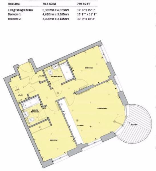 kidbrooke village floor plan