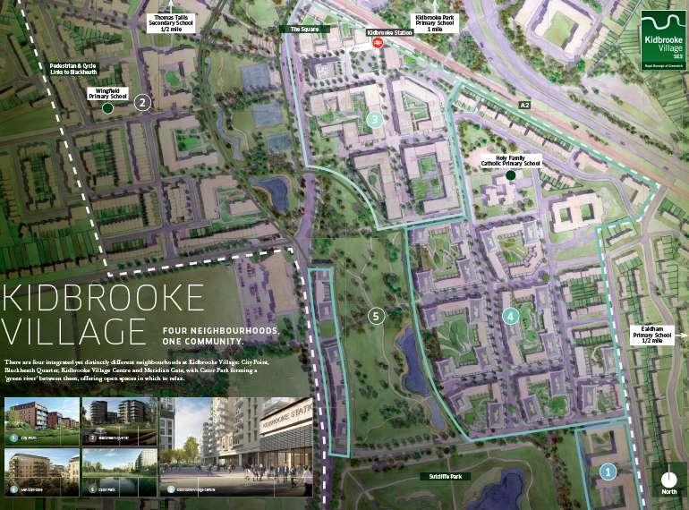 kidbrooke village site map