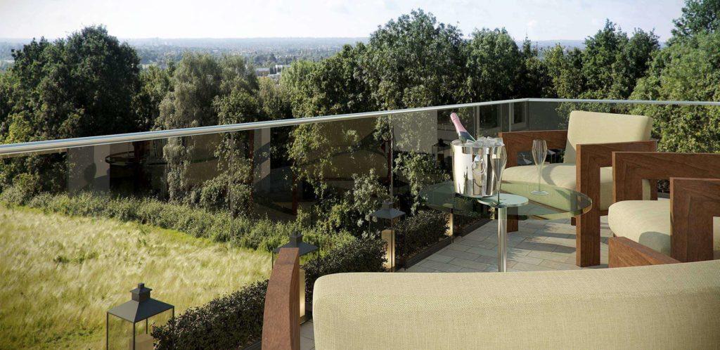 wimbledon hill park balcony