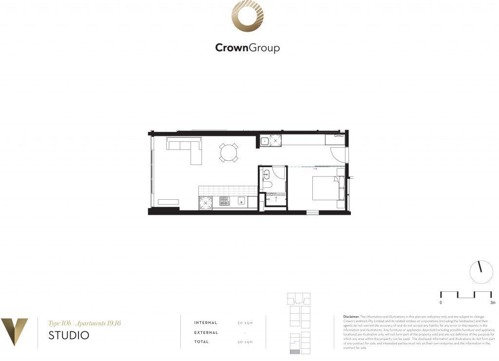 v by crown sydney floor plan 2br v parramatta V Parramatta | Showflat Hotline +65 6100 7122 V by Crown Sydney floor plan 2br