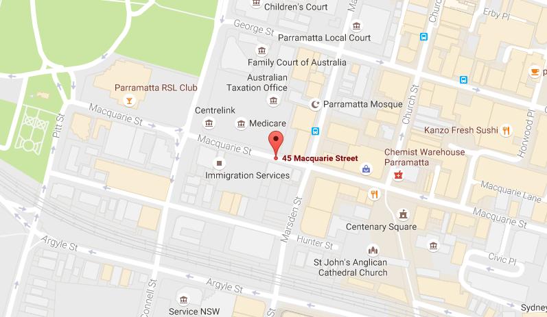 V Parramatta google map v parramatta V Parramatta | Showflat Hotline +65 6100 7122 google Map 5