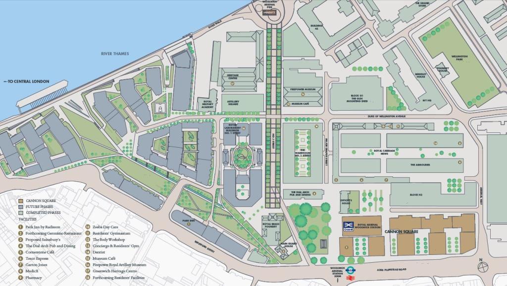 Royal Arsenal Location royal arsenal riverside Royal Arsenal Riverside | Showflat Hotline +65 6100 7122 Royal Arsenal London