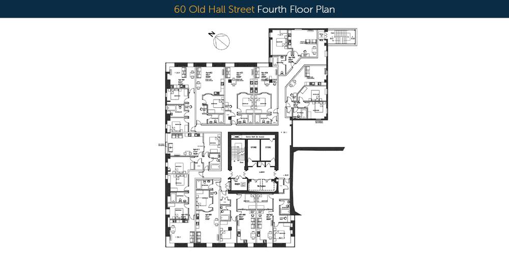 60 old hall street fourth floor-plans