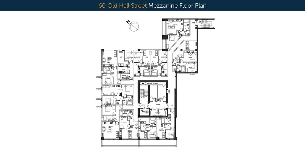 60 old hall street upper floor-plans