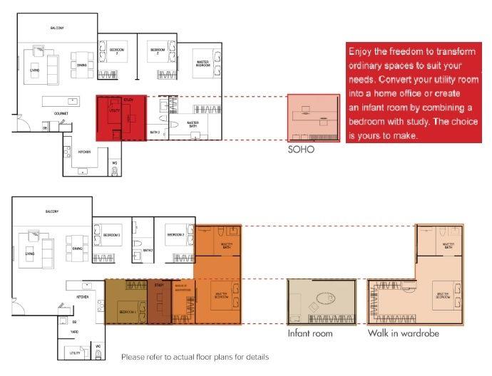 Inz Residence Floor Plan