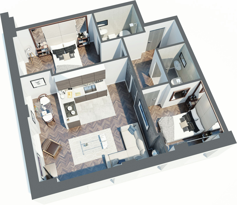 Reliance House floor plan