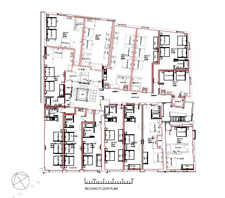 arthouse square floor Plan 2nd floor