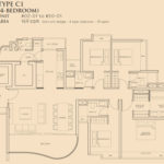 the meyerise 4 bed typeC1