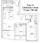 Artra Floor Plan Type A1