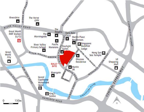Martin Residences location
