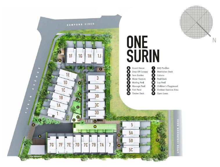 One Surin Site Plan