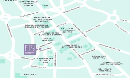 Burlington Square Manchester location
