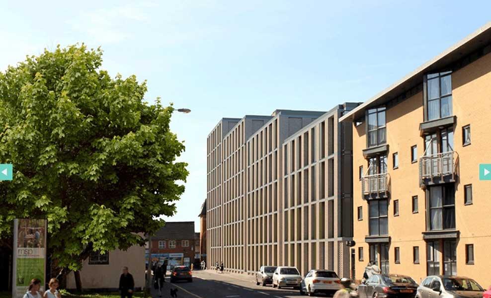 Burlington square in Manchester