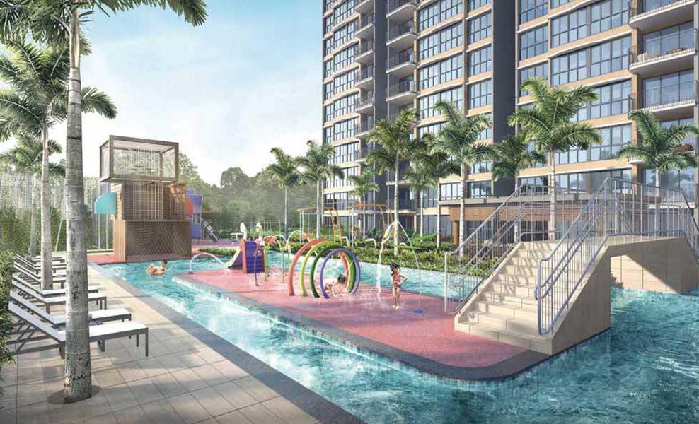 Hundred Palms Residences pool