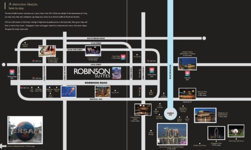 Robinson Suites Location Map