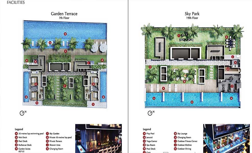Robinson suites Site plan