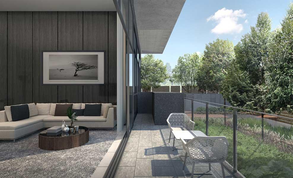 Kandis Residence balcony
