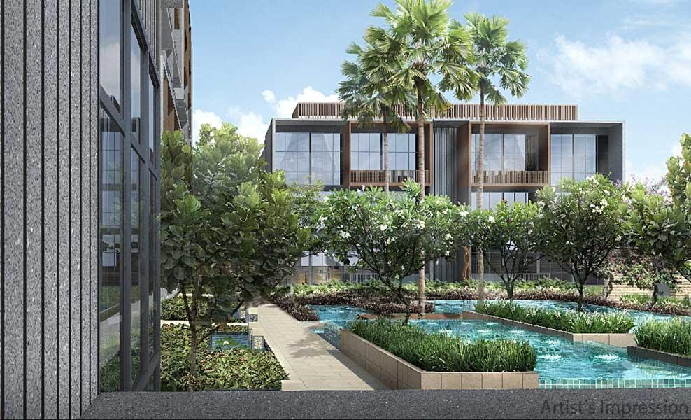 Kandis Residence garden