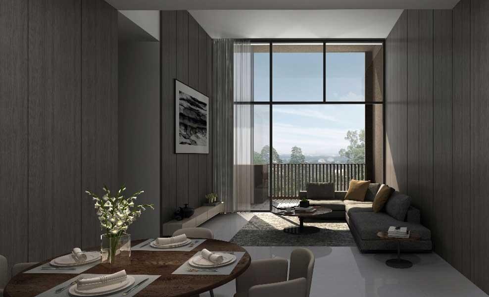 Kandis Residence living