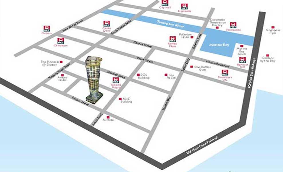 Skysuites @ Anson Location Map