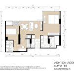 Ashton Asoke Rama 9 Alpha Tower E6 Layout