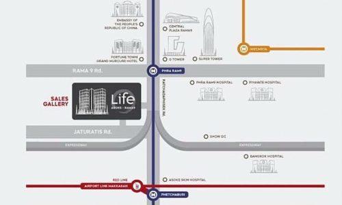 Life asoke rama 9 location
