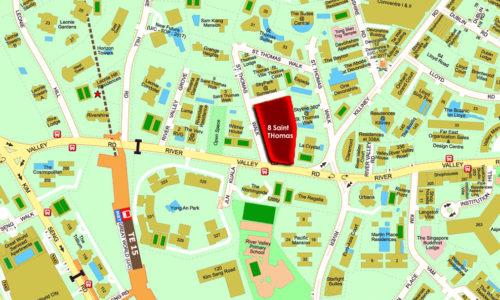 8 Saint Thomas showflat location