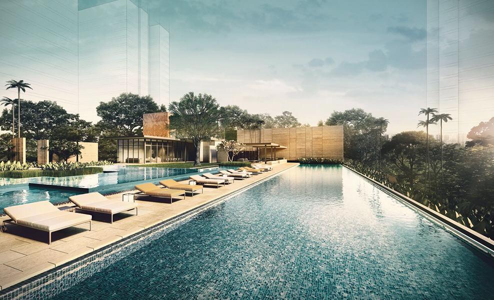 amber 45 swimming pool