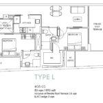 2 Bedroom Type L