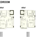 70 @ Truro Floor Plan 2 bdrm