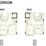 70 @ Truro Floor Plan 2 bdrm