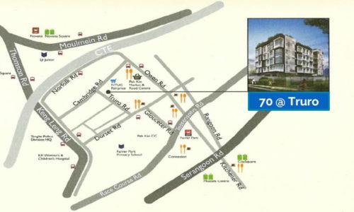 70 truro Location Map