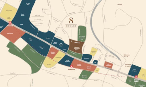 8 Hullet Location Map