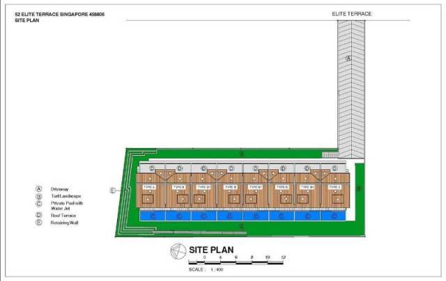 Elite Residences Site Plan