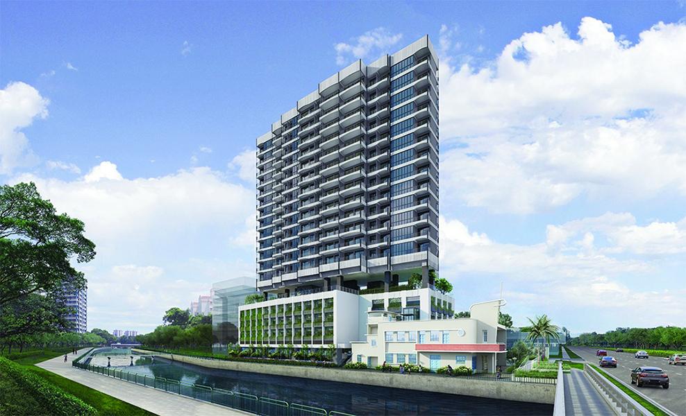 Jui Residences building