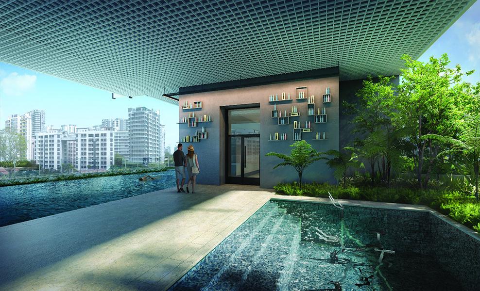 Jui Residences pool