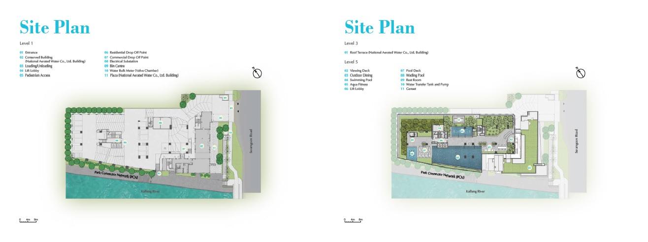 Jui Residences site map