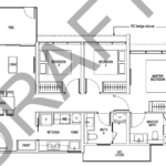 Tapestry tampines CDL 3 bedroom floor plan