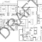 Tapestry tampines CDL 5 bedroom floor plan