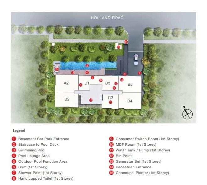 The Enclave Holland Site Plan