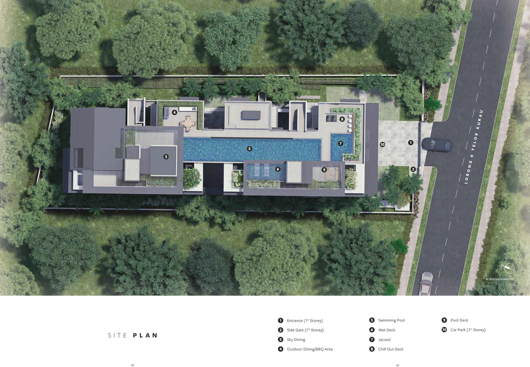 fivenine site plan