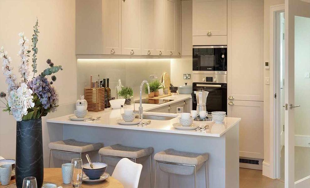 Green Park Village kitchen