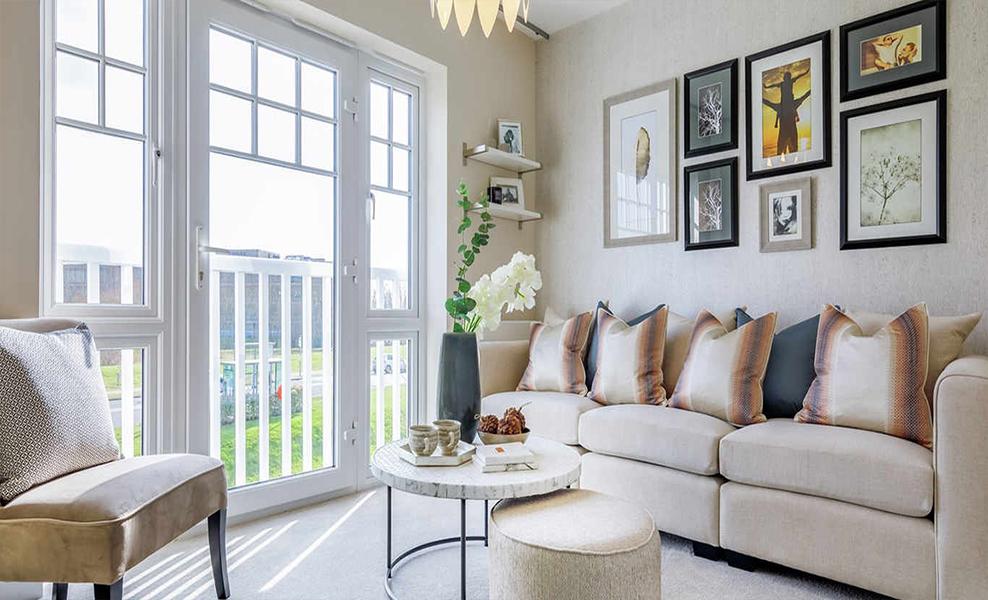 Green Park Village living room