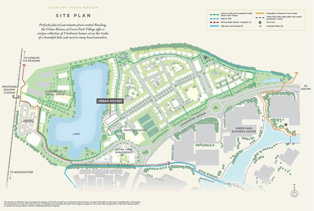 Green-Park-Village-site map