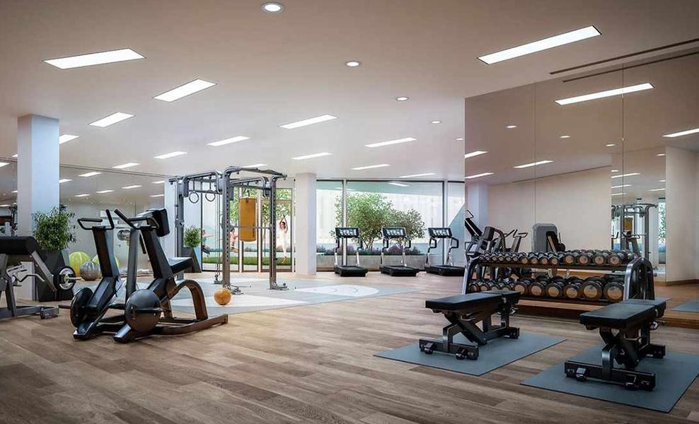 One Blackfriars gym