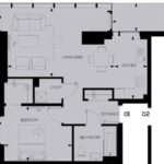 Woodberry Down floor plan 1