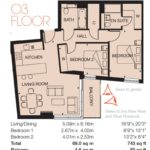 Woodberry Down floor plan 3