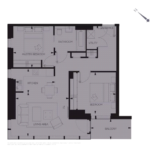 Woodberry down Floor plan