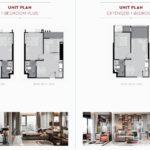 Life Sukhumvit 62 Bang Chak FloorPlan Studio 1BRplus