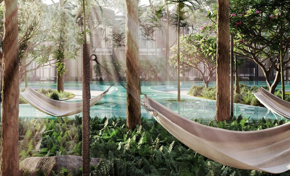 Affinity at Serangoon pool